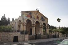 Kaikkien kansojen kirkko Getsemanessa