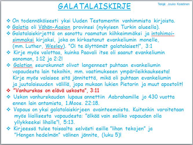Kirje Heprealaisille